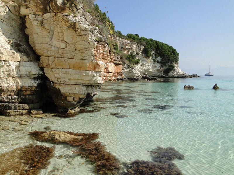 isla griega de Paxos