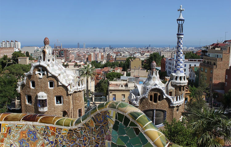 Foto de Barcelona desde el Parque Güell