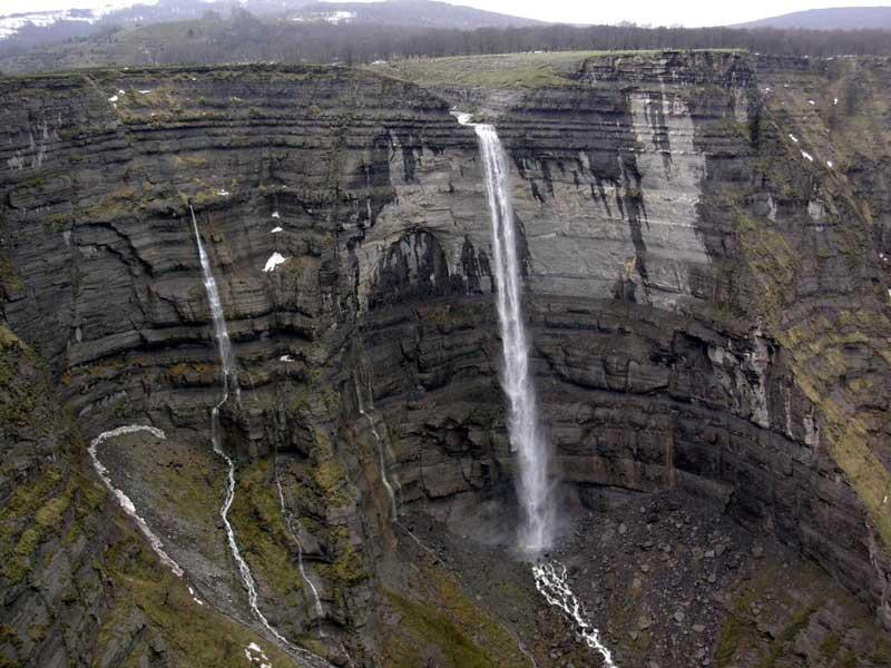 cascadas de burgos