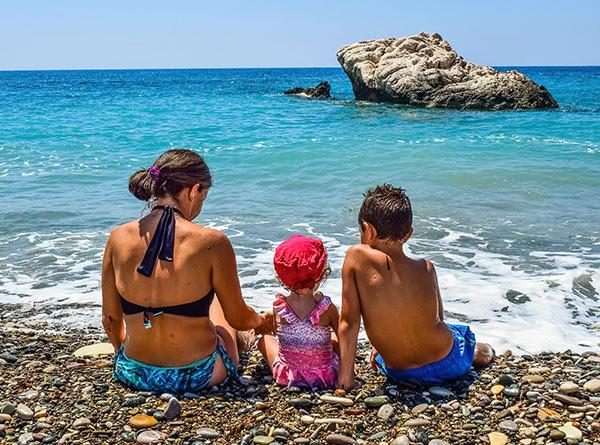 Lloret de Mar con niños
